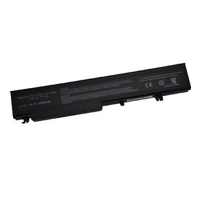 5200mAh Replacement Laptop battery for Dell T118C Y028C Y029C Vostro 1720 1720n
