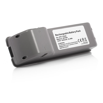 3000mAh Replacement Battery for XBT800 XBT800W Euro-Pro Shark SV800 SV800C VX63