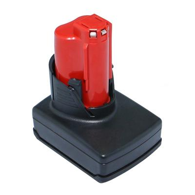 12V Replacement tool battery for Milwaukee 2410 2410-20 2410-22 2411-20 4.0AH
