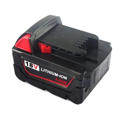 18V 3.0Ah Replacement tool battery for Milwaukee 48-11-1852 48-59-181 48-59-1850