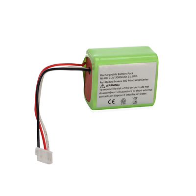 7.2V 3.0Ah Replacement Battery for iRobot Mint Vacuum Cleaners 4409709 GPRHC202N026