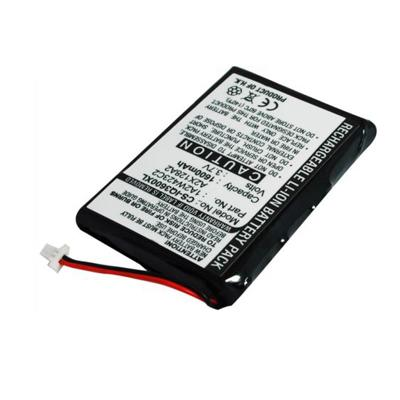 Replacement 3.70V 1600mAh Li-ion Battery for Garmin 1A2W423C2 A2X128A2 iQue 3200 3600 3600a
