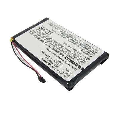 3.70V 1250mAh Replacement Battery for Garmin 361-00051-02 Dezl 560LMT 560LT 650LM