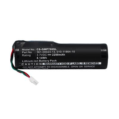 3.7V 2200mAh Replacement Battery for Garmin 010-11864-10 361-00023-13 Pro 70 550 handheld