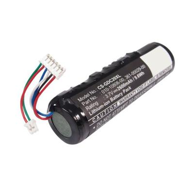 3.7V 2600mAh Replacement Battery for Garmin 010-10806-20 DC20 DC30 DC40