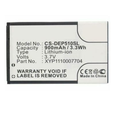 3.7V 900mAh Replacement Battery for Doro PhoneEasy 500 506 508 509 510 515 6030 715