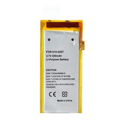 3.7V 350mAh Replacement battery for Apple iPod Nano MB915LL/A MB911LL/A MB907LL/A