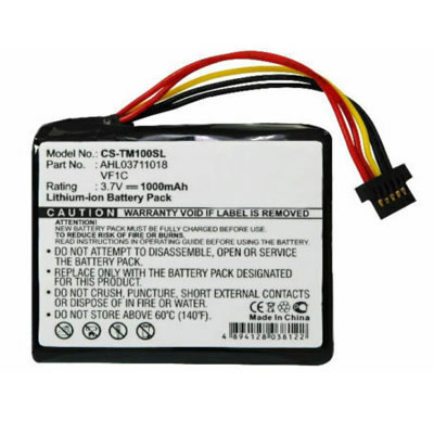 Replacement GPS Battery for TomTom AHL03711018 VF1C Go 1000 2405 2435 2505