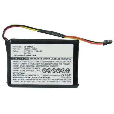 Replacement GPS Battery for TomTom XL IQ XL2 V4 CS-TMX2SL 6027A0106801