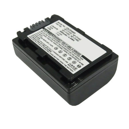 Replacement battery for Sony NP-FH30 NP-FH40 NP-FH50 650mAh