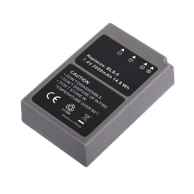 7.20V 2000mAh Replacement Camera battery for Olympus E-PL3 E-PL5 E-PM1 E-PM2 Stylus 1