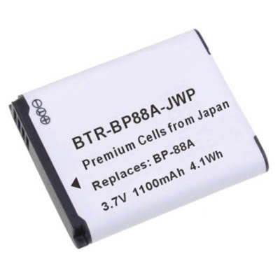 3.70V 1100mAh Replacement BP88A battery for Samsung DV300 DV300F DV305 DV305F Camera