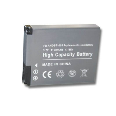3.7V 1100mAh Replacement Camera battery for GoPro AHDBT-001 AHDBT-002 HD HERO HERO2