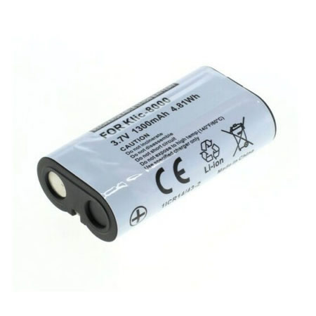 3.7V 2400mAh Replacement Camera battery for Kodak KLIC-8000 KLIC8000 Easyshare Z1012 Z1085 IS