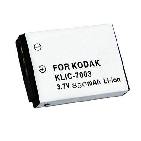 3.7V 850mAh Replacement Camera battery for Kodak Easyshare V1003 V803 Z950 KLIC 7003