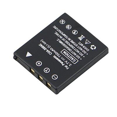 Replacement Camera battery for Panasonic CGA-S004E/1B DMW-BCB7 Lumix DMC-FX7A DMC-FX7W