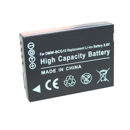 Replacement Camera battery for Panasonic DMW-BCG10GK DMW-BCG10PP Lumix DMC-TZ10 DMC-TZ18 DMC-TZ20