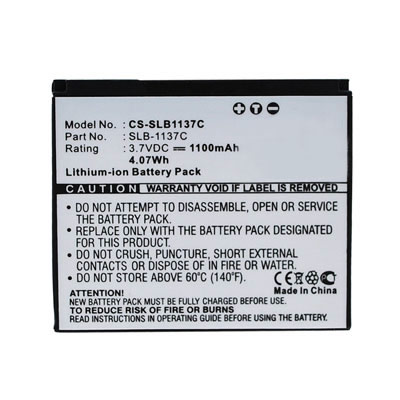 3.70V 1100mAh Replacement SLB-1137C battery for Samsung i7