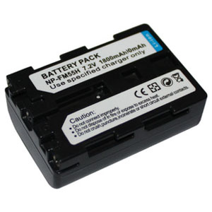 1600mAh Replacement battery for Sony NP-FM55H NPFM55H DSLR-A100 DSLR-A100/B DSLR-A100K