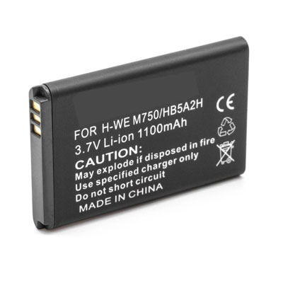 1100mAh HB5A2H Cell Phone Battery Replacement For HUAWEI U7519 MTAP 750 M228