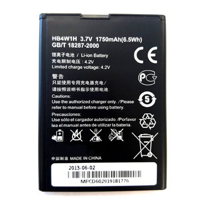 1750mAh HB4W1H Cell Phone Battery Replacement For HUAWEI G510 G520 G525 Y210 Y210C C8813 Prism II