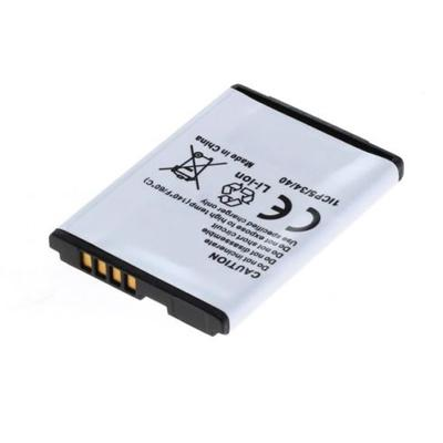 Replacement Cell Phone Battery for LG LGIP-411A CG180 LX160 Flare KG375 750mAh